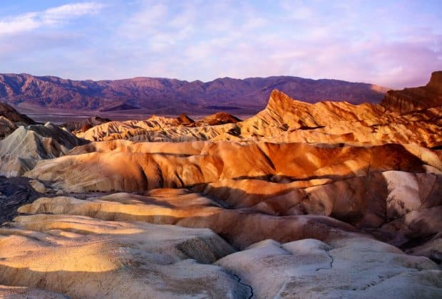Rekord temperatury dolina śmierci
