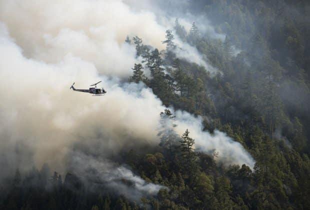 Kalifornia pożary ofiary