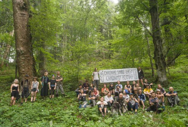 Puszcza Karpacka protest