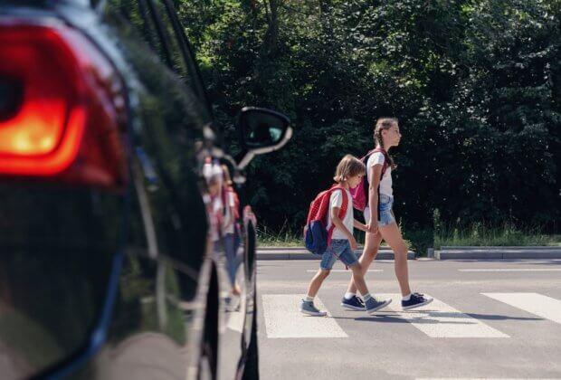 ograniczenia samochody szkoły