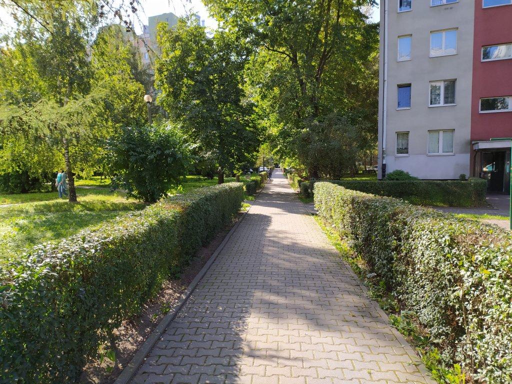 Osiedle Widok Kraków Chodnik