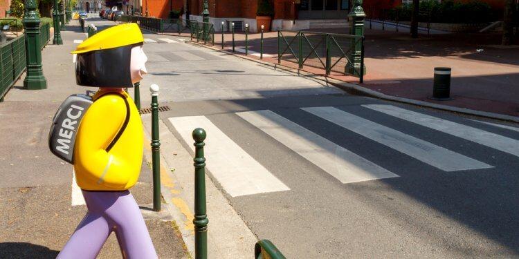 paryż szkoły samochody