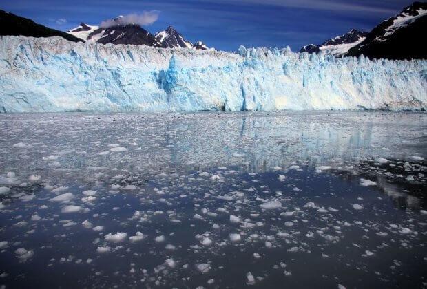 Lód alaska topnienie