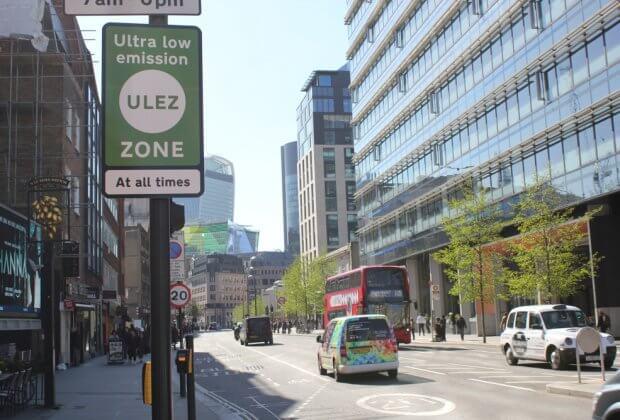 Londyn powietrze