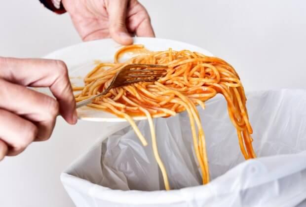 wyrzucanie żywności