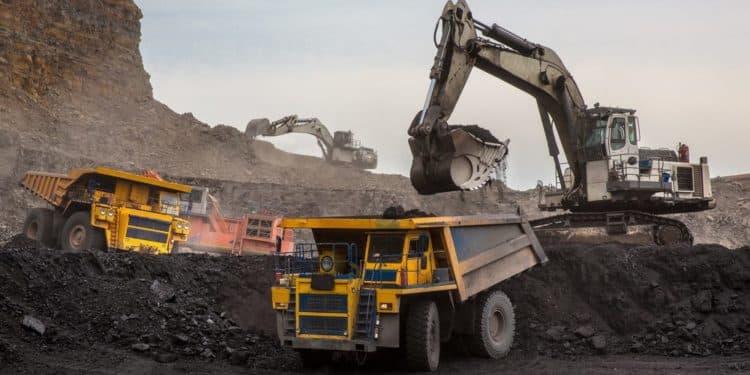 odkrywka węgla