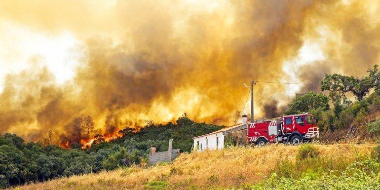 Pożary Europa