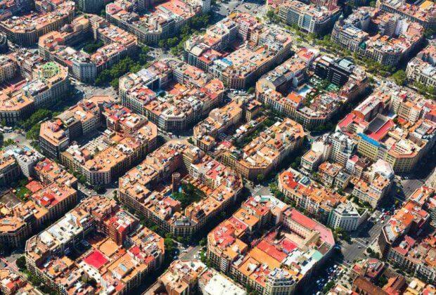 Barcelona greenblocks