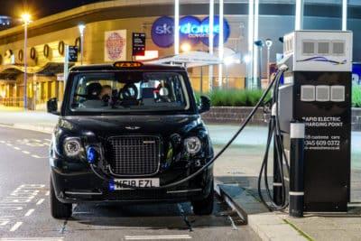 wielka brytania zakaz samochody elektryczne