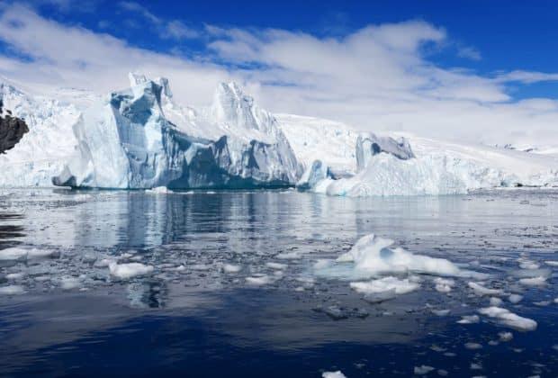 Rekord temperatur lodowiec