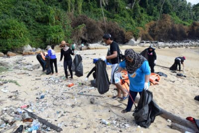 Malezja Unia Europejska Śmieci Eksport