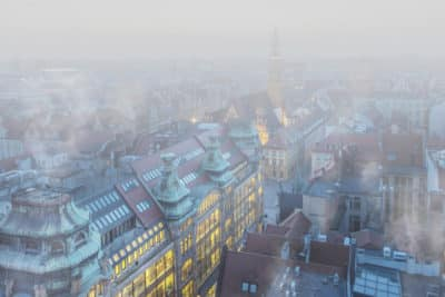 wrocław smog wuhan