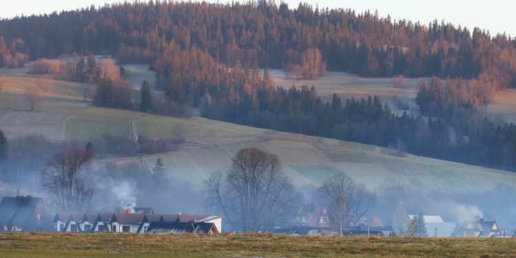 smog podhale