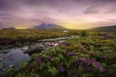 Szkocja Góry Rezerwaty Przyrody