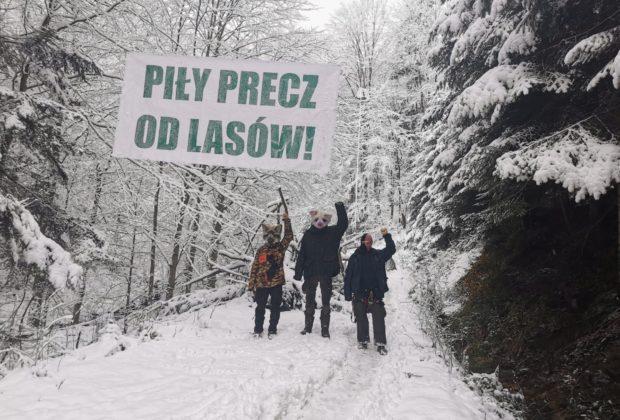Wilczyce protest