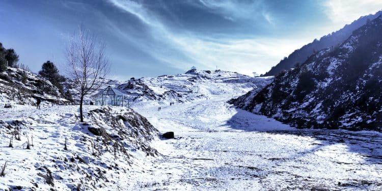 lodowiec indie lawina