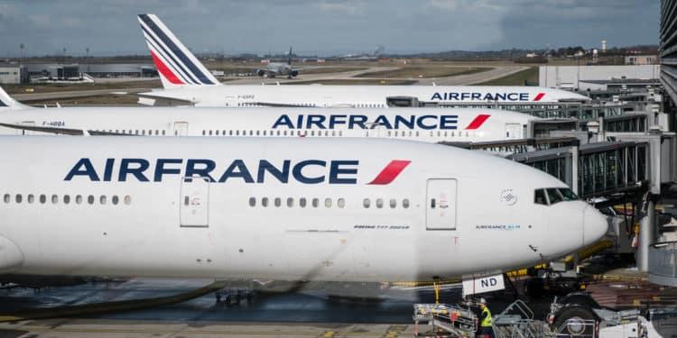 Air France Zakaz Lotów pociąg