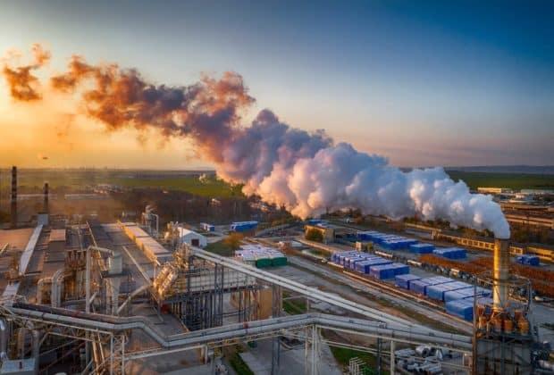 przemysł i smog