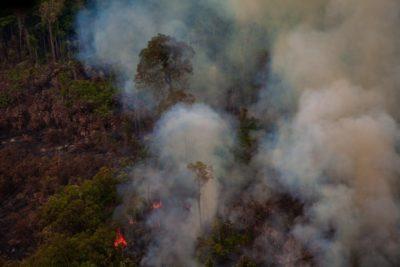 pożary Amazonia