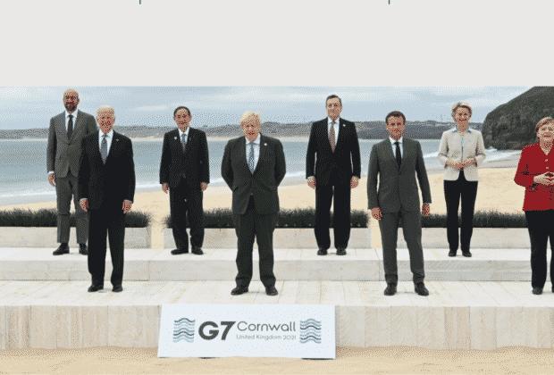 szczyt g7 liderzy