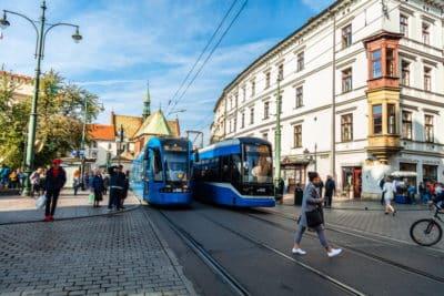 krakow tramwaje mpk