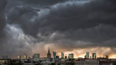nawałnice Warszawa