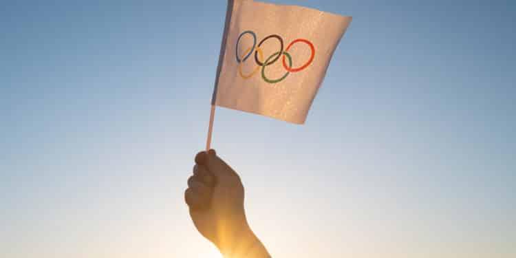 flaga igrzyska tokio