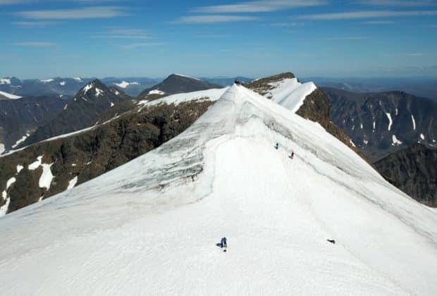 Najwyższy szczyt Szwecji