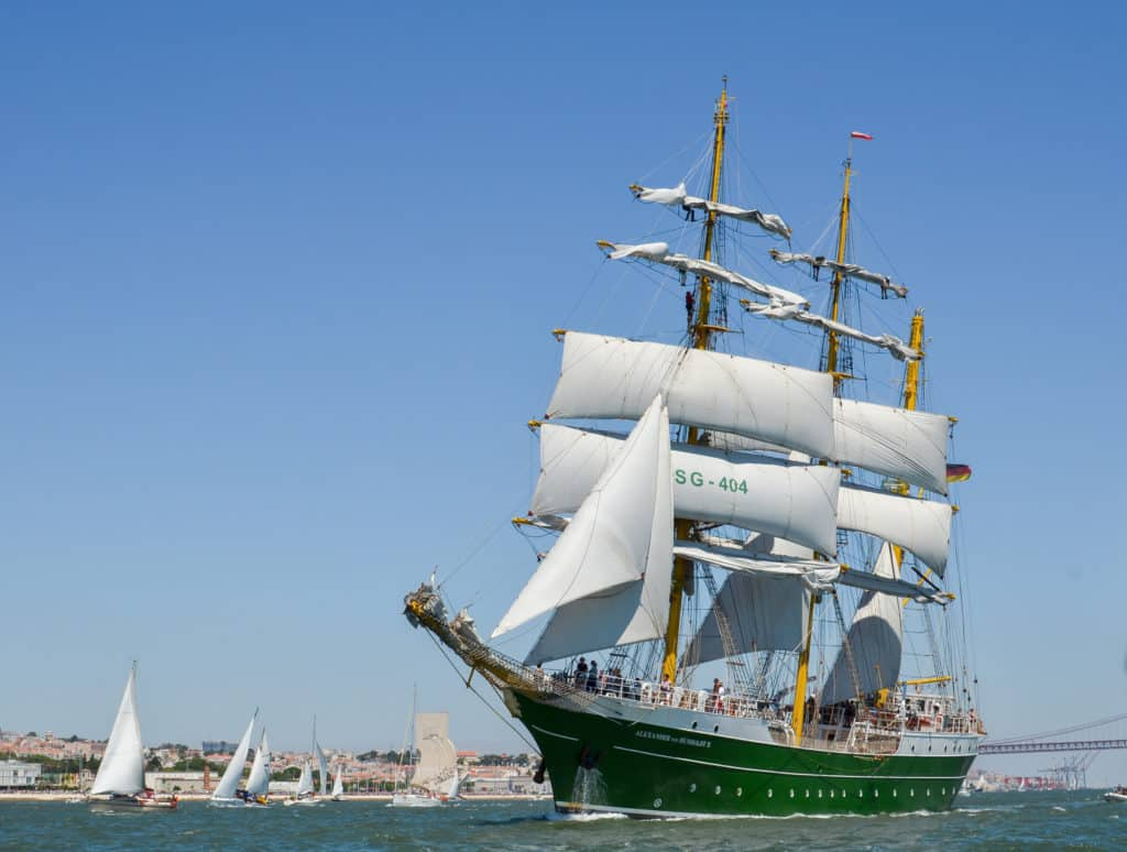 Statek Alexander von Humboldt II. Fot. TkachenkoPM / Shutterstock.com.