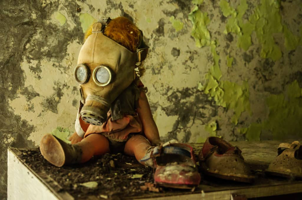 David Attenborough mówi: Jesteśmy jak ludzie w Czarnobylu.