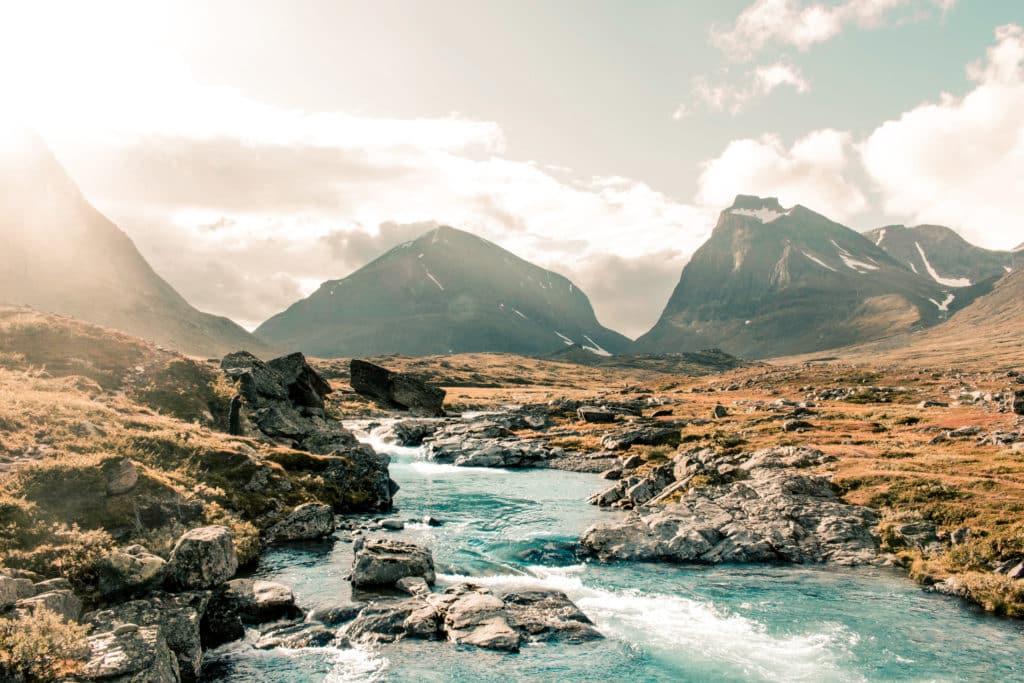 Od lat 90. ubiegłego wieku najwyższy szczyt Szwecji Kabnekaise skurczył się o ponad 20 metrów. Winne są zmiany klimatu. Fot. Joakim Eriksson/Shutterstock.