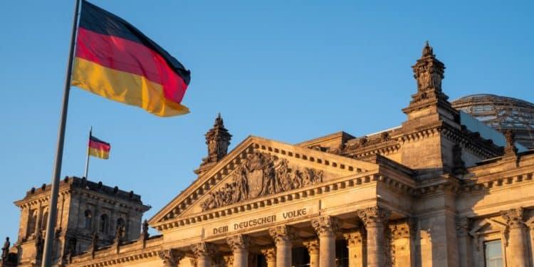 Flaga Niemcy wybory