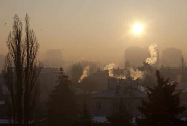 Dym nad miastem