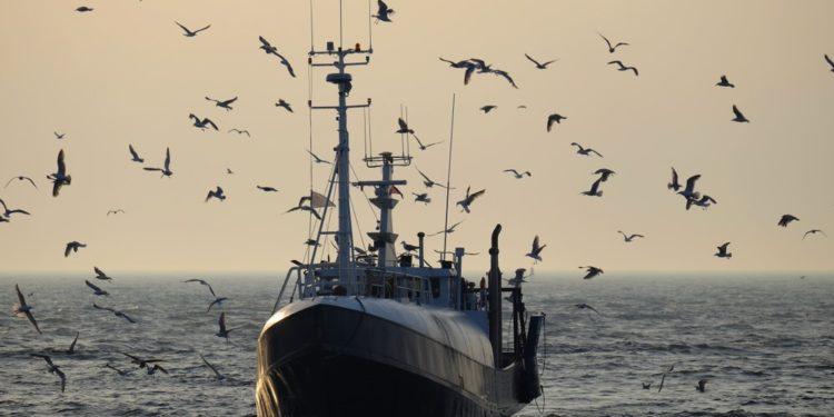 Kuter rybacki Bałtyk