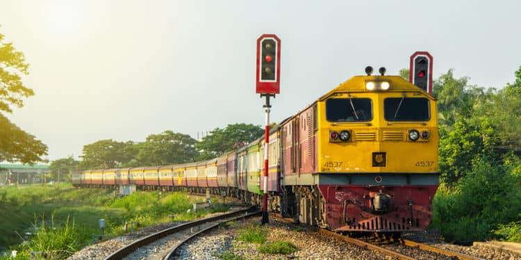 pociąg indie
