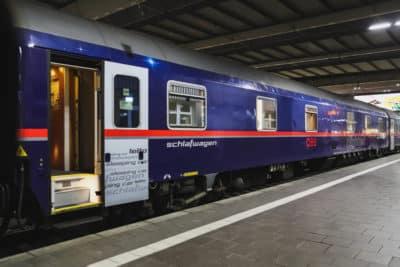 nocny pociąg niemcy