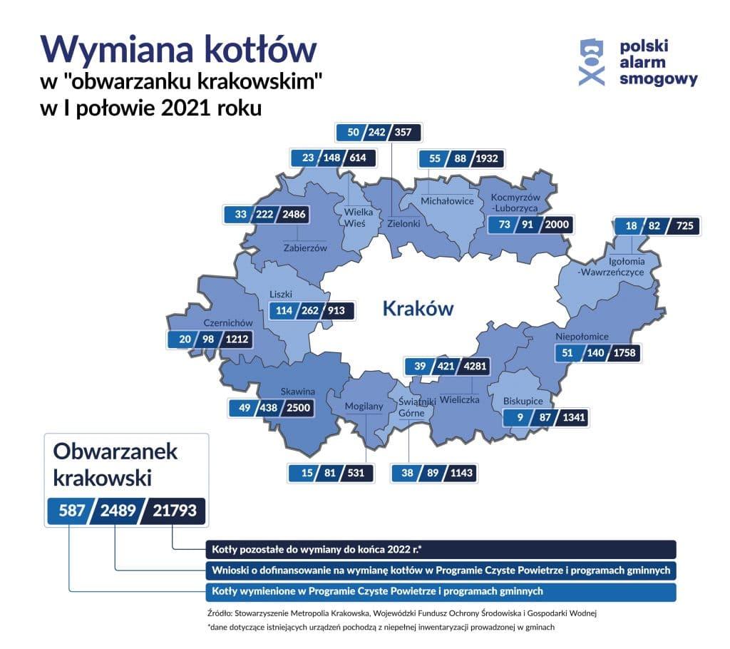 mapa obwarzanek