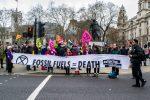 protest Londyn