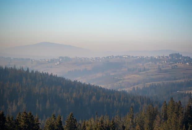 Smog w górach